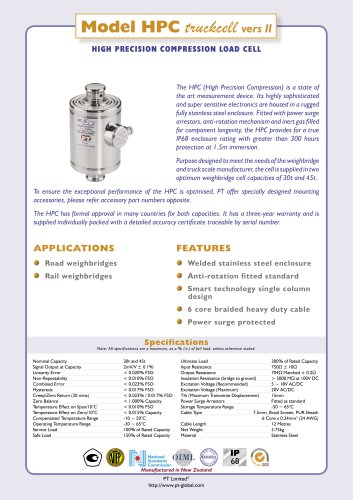 HPC Compression IP68