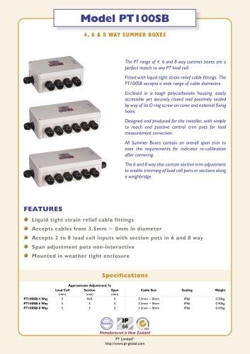 PT100SB Summer & Junction Boxes