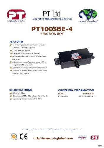PT100SBE-4 IP67 Aluminum - Summer & Junction Boxes