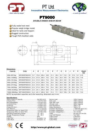 PT9000 Double ended shear beam