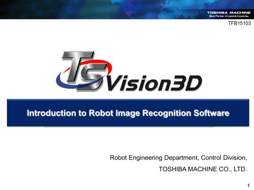 TSVision3D software Solution