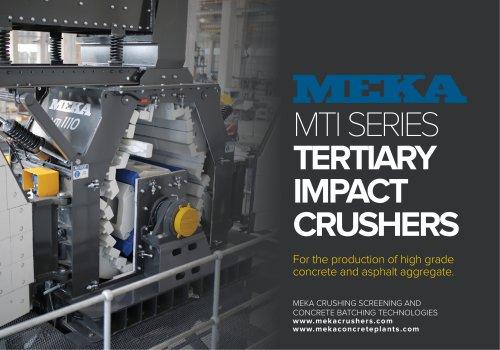 MEKA TERTIARY IMPACT CRUSHER