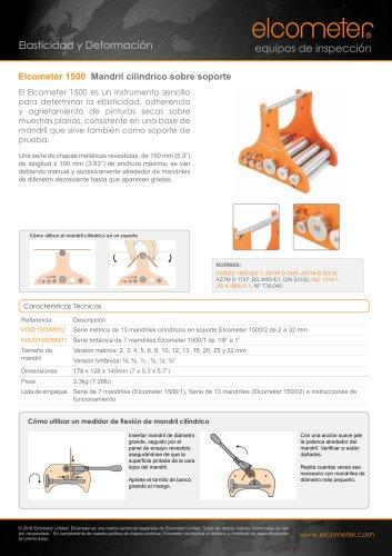 Elcometer 1500 Mandril cilíndrico sobre soporte