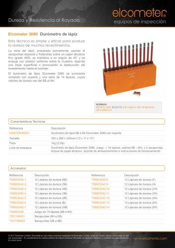 Elcometer 3080 Durómetro de lápiz