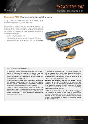 Elcometer 7000 Medidores digitales de humedad