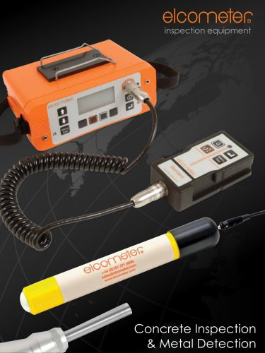 Elcometer - Conrete Inspection & Metal Detection