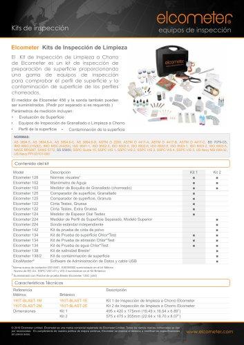 Kits de Inspección de Limpieza a