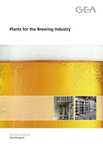 plants for the brewing industry
