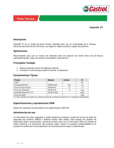Castrol® 2T