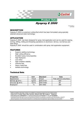 Hyspray E 2000