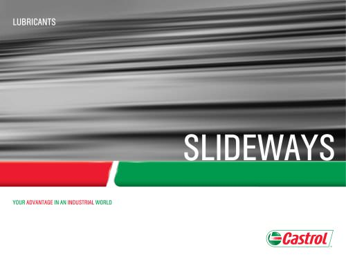 Slideway Lubricants