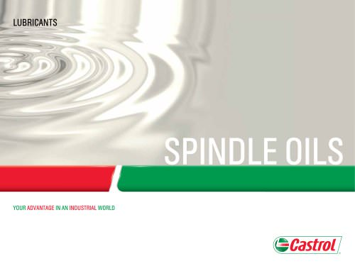 Spindle Oils