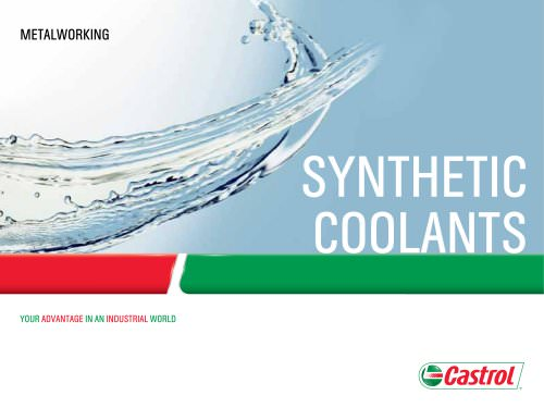 Synthetic Coolants
