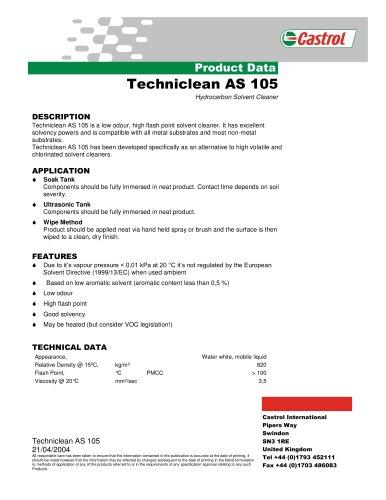 Techniclean AS 105