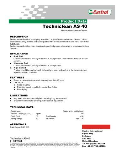 Techniclean AS 40