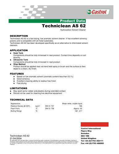 Techniclean AS 62