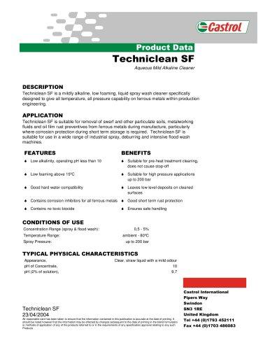 Techniclean SF