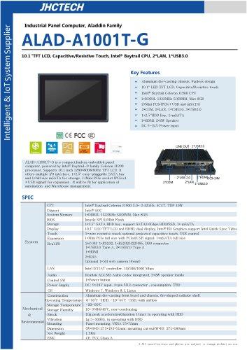 ALAD-A1001T/Panel PC/JHC