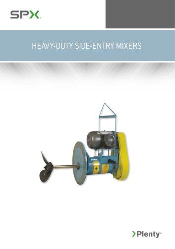 HEAVY-DUTY SIDE-ENTRY MIXERS