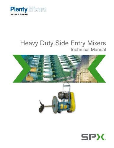 Heavy Duty Side Entry Mixers - PLM-102