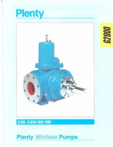 Rotary Pumps G2000 Series