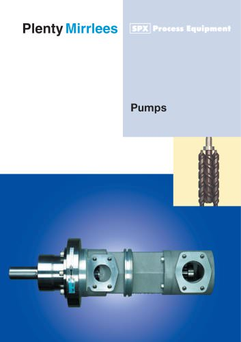 Screw Vane Pumps
