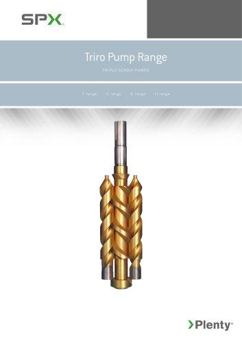 Three- Screw Pump - TRIRO Series