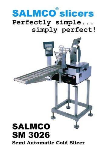 SM 3026  / Semi-automatic salmon slicer