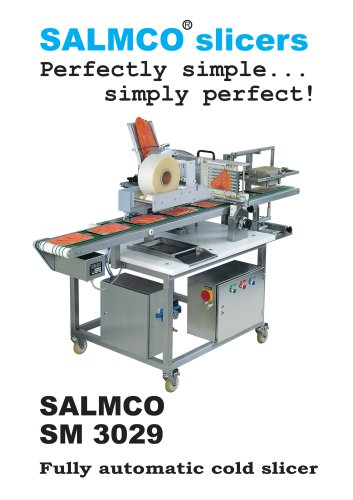 SM 3029 / Fully automatic cold slicer