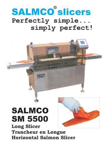 SM 5500 / Horizontal Salmon Slicer