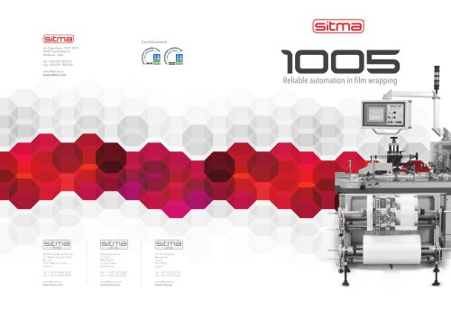 Film wrapping machines 1005