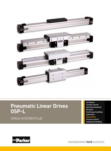 Pneumatic Linear Drives OSP-L