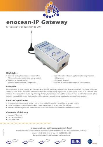 enocean IP Gateway, bidirectional (clip box)