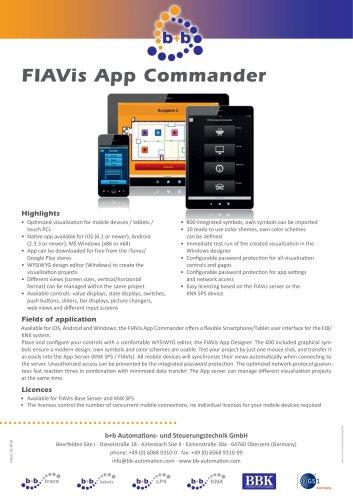 FIAVis App Commander (Licence) KEY