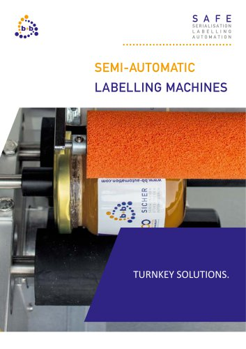 Semi-automatic labelling systems