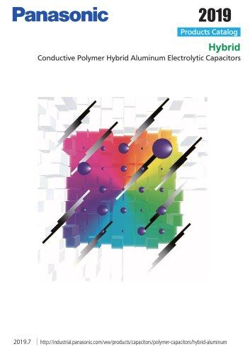 Hybrid Conductive Polymer Hybrid Aluminum Electrolytic Capacitors