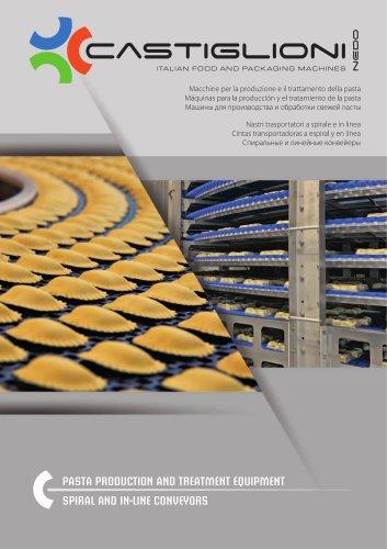 Màquinas para la producciòn y el tratamiento de la pasta