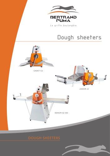 Dough sheeters