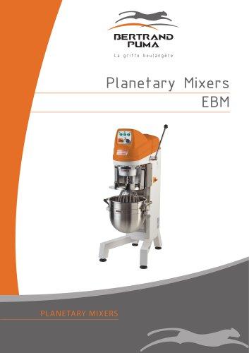 Planetary Mixers EBM