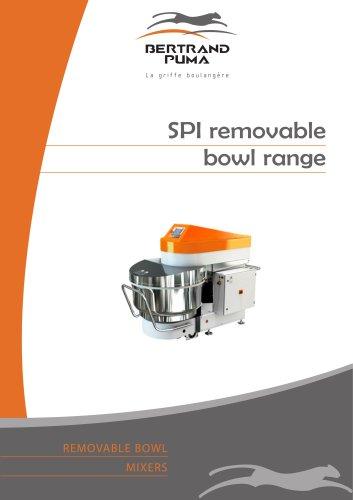 SPI removable bowl range