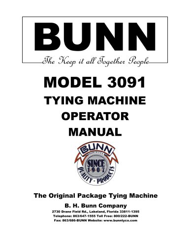 MODEL 3091