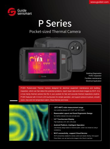 Guide Sensmart / INSPECTION CAMERA / THERMAL IMAGING / INFRARED / VISIBLE GUIDE P120V