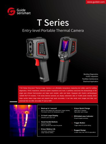 Guide Sensmart/THERMAL IMAGING CAMERA / INFRARED / VISIBLE / USB/GUIDE T120