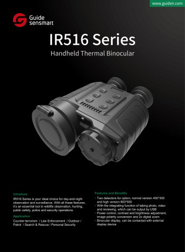 IR516 Series Handheld Thermal Binocular