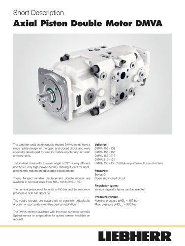 DMVA D Double Motor Short Description