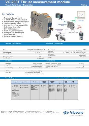 VC200T Thrust Measurement Module