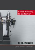 Profile bending machines - Type RB3-L / RB3 /RB4 /RB6