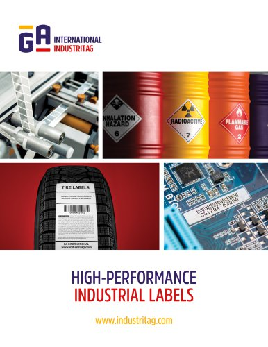 HIGH-PERFORMANCE INDUSTRIAL LABELS