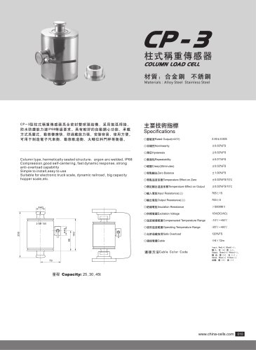 CP-3 load cell