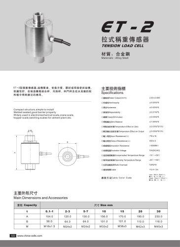 ET-2 load cell